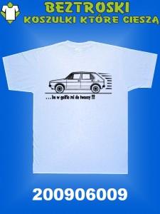 koszulka z golfem