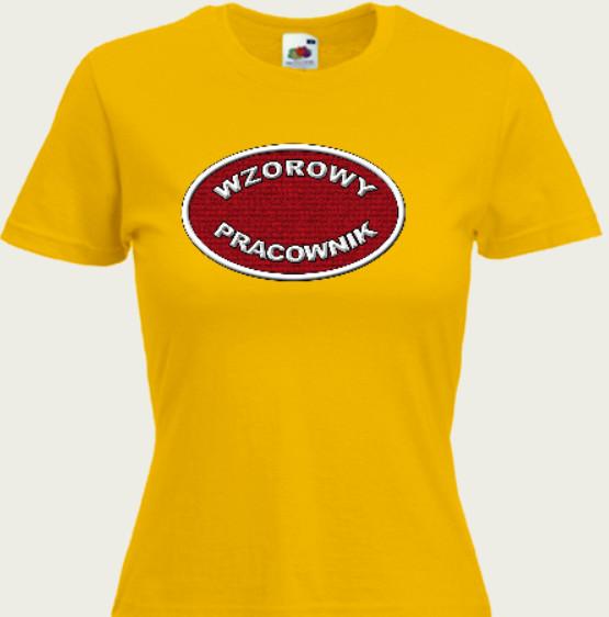 koszulka wzorowy pracownik