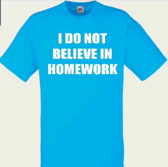 koszulka homework