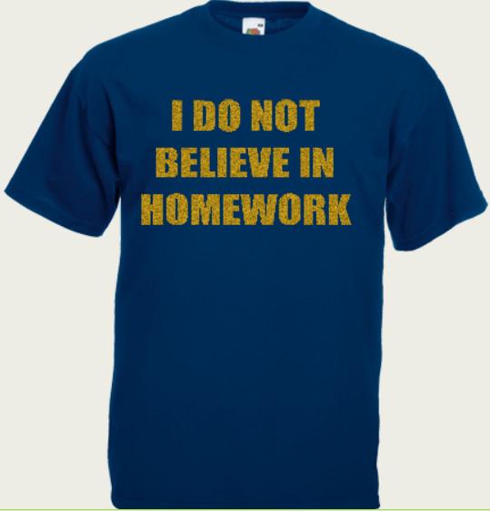 koszulka i do not believe
