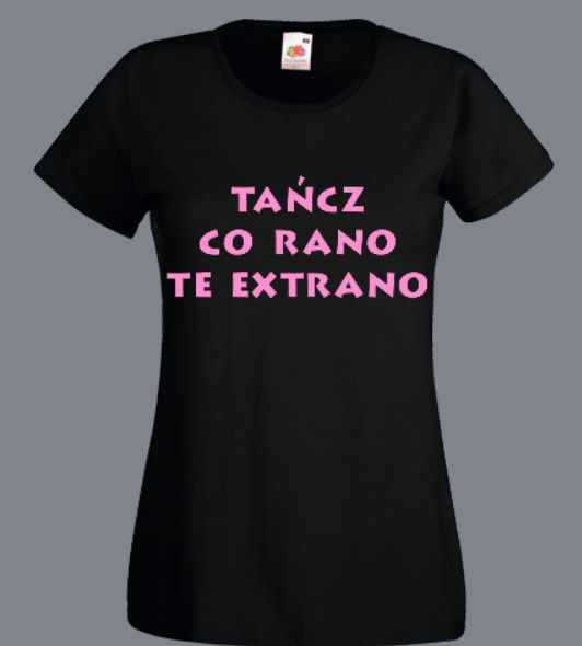 koszulka bachata