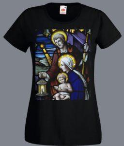 koszulka ze Świętą Rodziną
