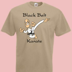 koszulka karate black belt