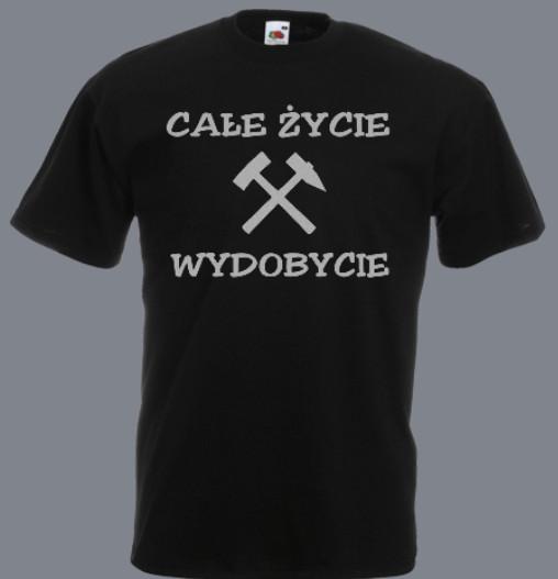 koszulka górnik wydobycie
