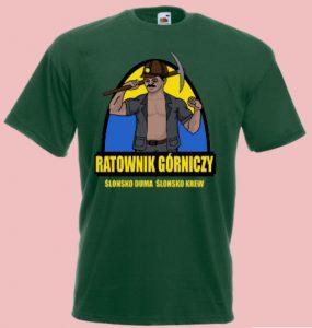 koszulka górnik ratownik