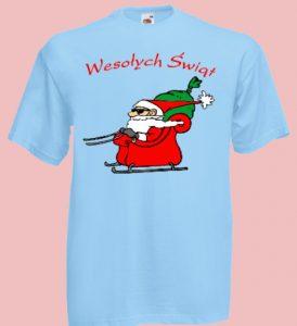 koszulka mikołaj prezenty