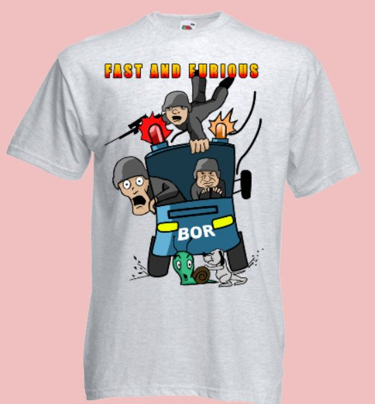 koszulka bor fast and furious