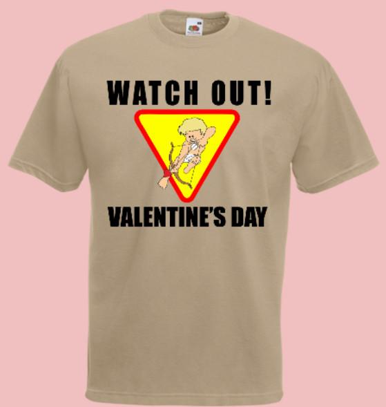 amor walentynki koszulka
