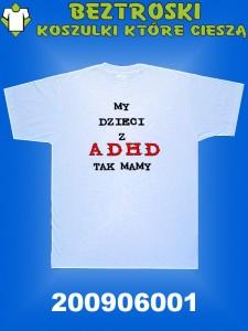 koszulka adhd dzieci