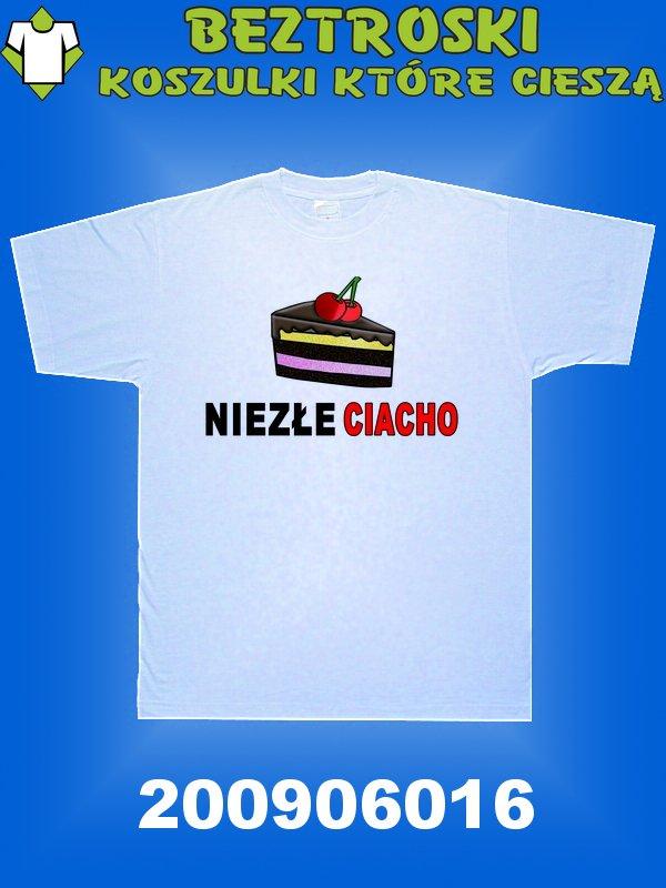 koszulka z napisem ciacho