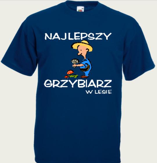 koszulka dla grzybiarza