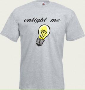 koszulka z żarówką