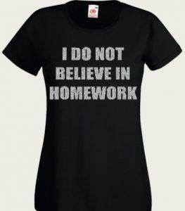 bluzka belive homework