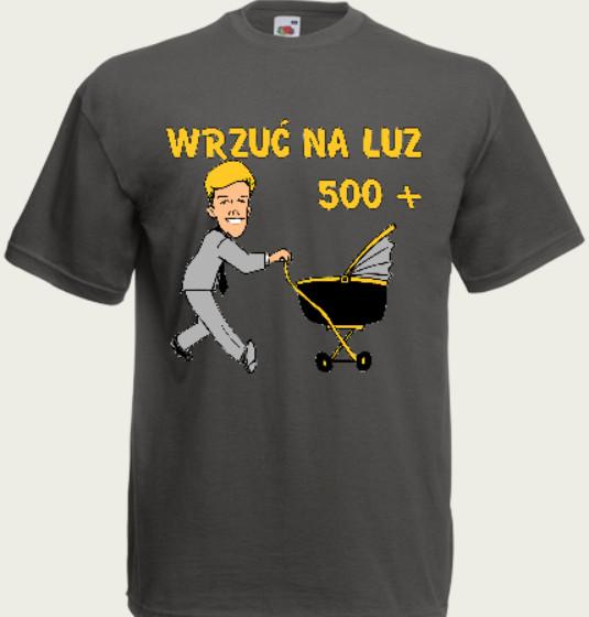 koszulka dla ojca 500+