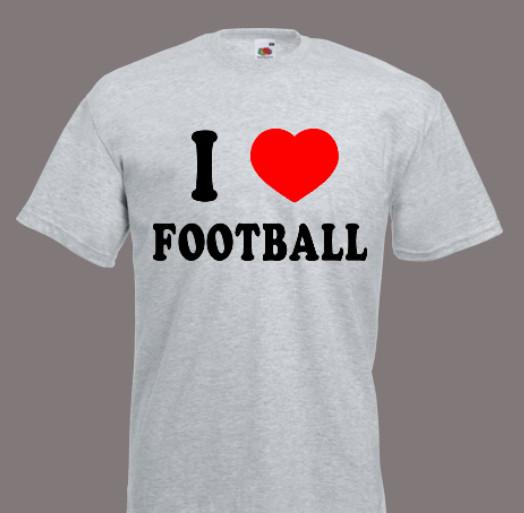 koszulka i love football