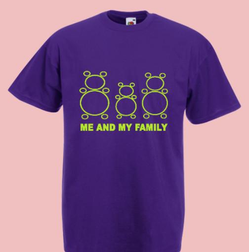 koszulka misie rodzinka