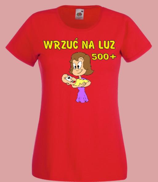 koszulka rodzina 500 plus