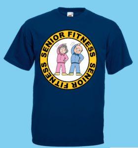 koszulka na gimnastykę seniora