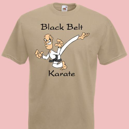 koszulka karate black belt