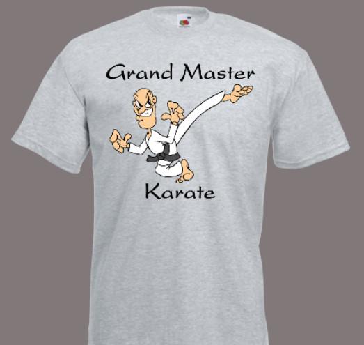 koszulka karate grand master