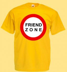 no friend zone koszulka
