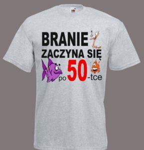 koszulka branie 50