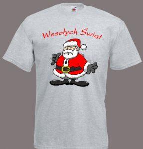 koszulka Święty Mikołaj