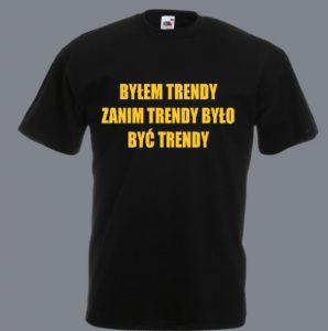 trendy koszulka