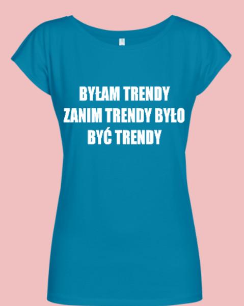 trendy bluzka damska