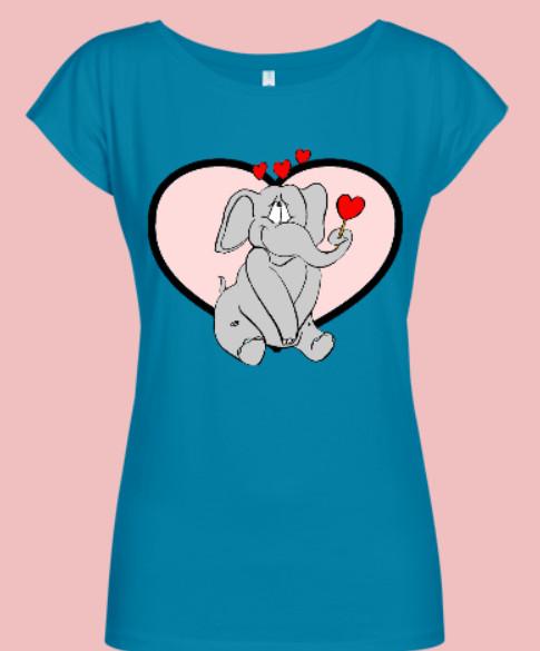 bluzka zakochany słonik