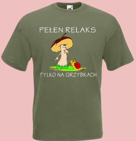 koszulka na grzyby