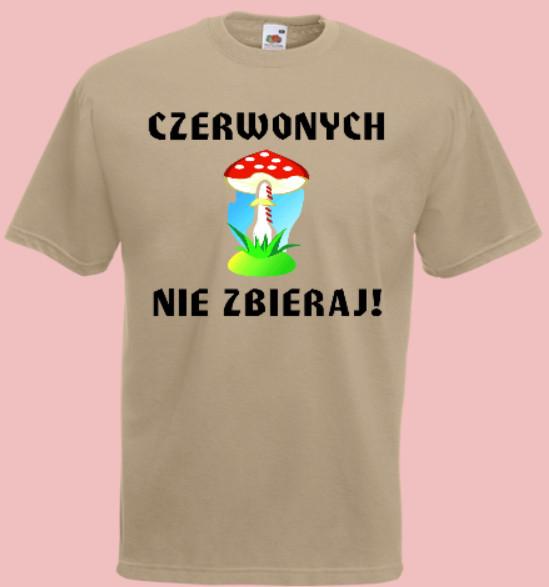 koszulka grzyb muchomor