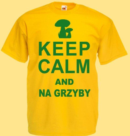 koszulka grzybiarz keep calm