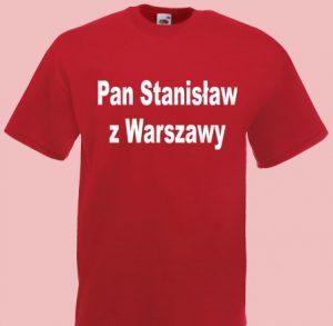 koszulka stanisław
